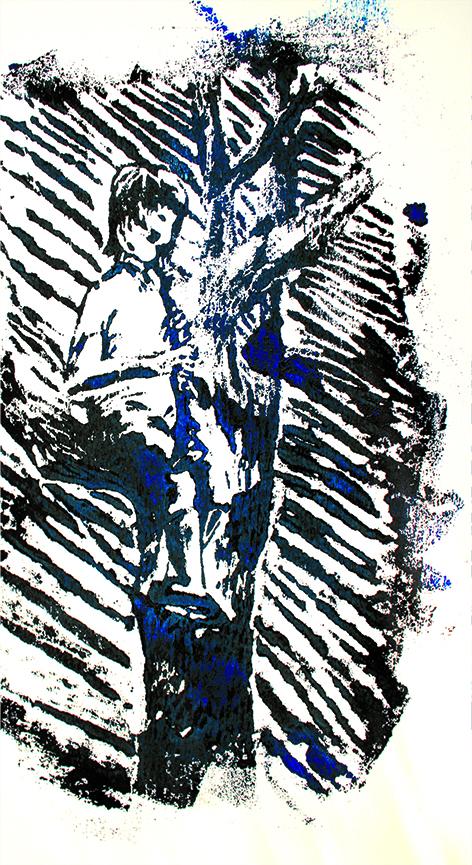 Lucien bleu