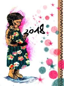 carte de voeux Lizi