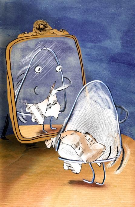 Essai isocele miroir